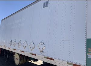 1995 semi trailer 28 foot with side door tires and lights are good with lift gate for Sale in Queen Creek, AZ