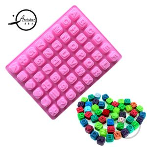 Silicone English Alphabet Number Letters Cake Mold Fondant Chocolate Decorating for Sale in Portland, OR