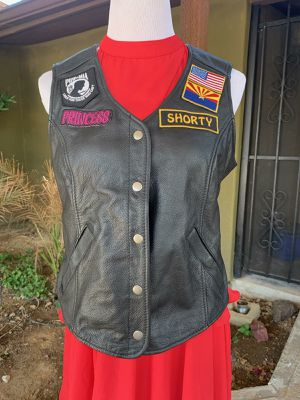 First Classic Leather Motorcycle Vest for Sale in Scottsdale, AZ