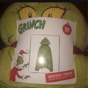 Grinch Hooded Throw for Sale in Compton, CA