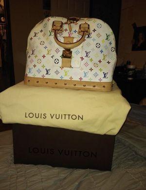Louis Vuitton Authentic Alma multicolored Monogram Large Bag for Sale in Farmington Hills, MI