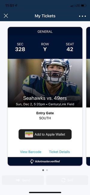 Seahawks Tickets for Sale in Monroe, WA