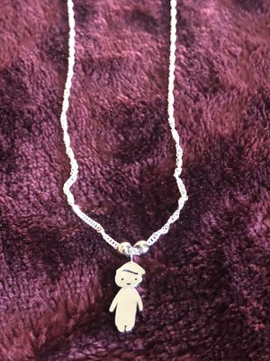 Necklace boy charm for Sale in Lake Elsinore, CA