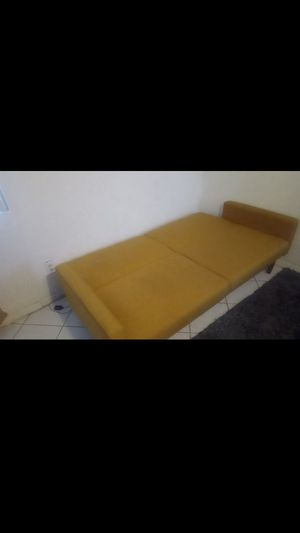 Dhp yellow couch futon for Sale in San Diego, CA