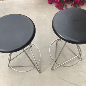 2 contemporary modern industrial stools for Sale in Litchfield Park, AZ
