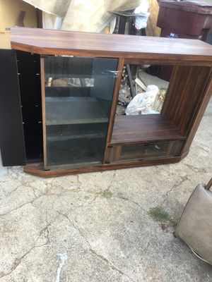 Free fisher component cabinet for Sale in Santa Ana, CA