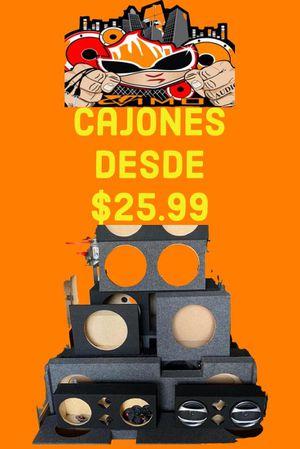 Cajones de audio for Sale in Miami, FL