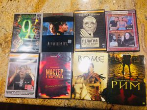 8 Russian movie dvds for Sale in Federal Way, WA