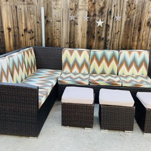 Sectional Patio Sofa Set for Sale in Los Angeles, CA