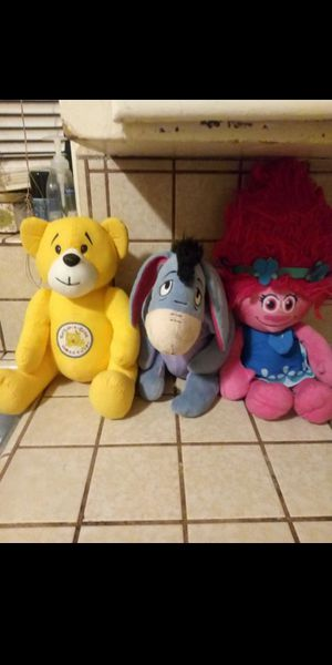 Stuffed animals (read post) for Sale in Fresno, CA