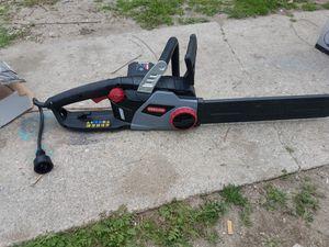 """Oregon electric chainsaw 16""""in for Sale in La Puente, CA"""