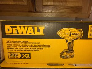"1/2 ""(13mm) HIGH TORQUE IMPACT WRENCH WITH DETENT ANVIL KIT for Sale in Denver, CO"