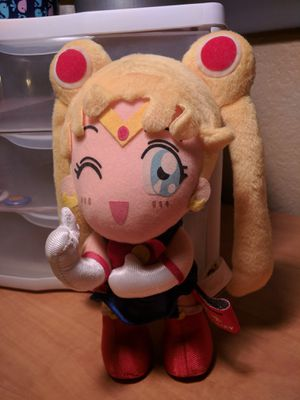 Sailor Moon 10th Anniversary Plushie Banpresto for Sale in Mesa, AZ