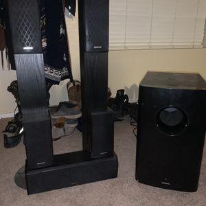 Onkyo 7.1 Speakers for Sale in Queen Creek, AZ