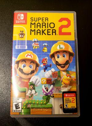 Super Mario Maker 2 - Nintendo Switch for Sale in Houston, TX