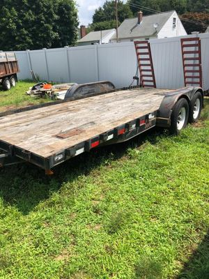 20 foot tilting trailer 10000lbs for Sale in Ansonia, CT