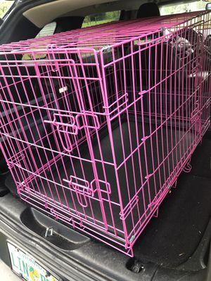 Pink Dog Crate for Sale in Sanford, FL