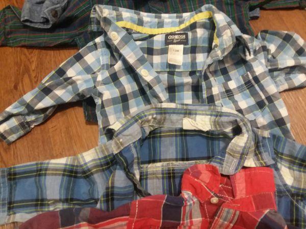 Lot of 12-month boy shirts