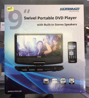 """9"""" Swivel Portable DVD Player for Sale in Rialto, CA"""