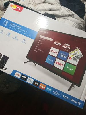 TCL Roku plus Smart tv brand new in box for Sale in Kenner, LA