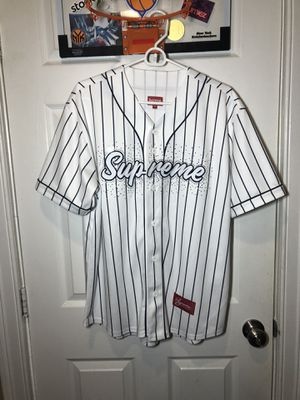 Supreme Rhinestones Jersey Size Medium 100% Authentic for Sale in Boston, MA