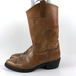 Mason Western Work Boots Size 10.5 Leather for Sale in Austin, TX