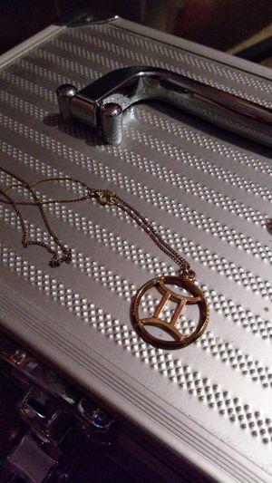 Gold Emblem Necklace for Sale in HOFFMAN EST, IL