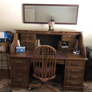 Elegant Executive Roll Top Desk for Sale in Laguna Woods, CA