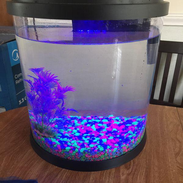LED built in fish tank