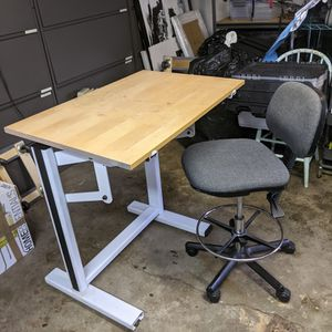 Ensign Drafting Table / Desk With Chair for Sale in Burien, WA