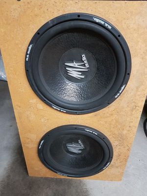 """15"""" subwoofer MA Audio for Sale in Aurora, CO"""