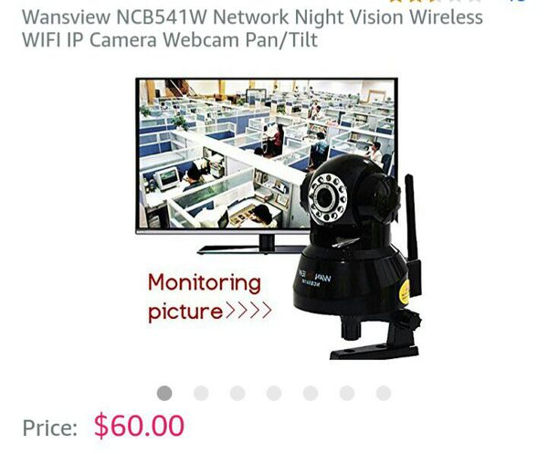 ***FLASH SALE***WANSVIEW NCB541W IP CAMERA for Sale in Hayward, CA - OfferUp
