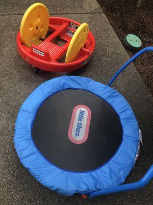 Kids trampoline and roller bike for Sale in Beaverton, OR