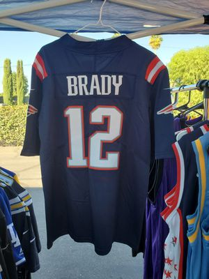 Official Nike Tom Brady (New England Patriots) Dark Blue Jersey [Sizes: S, M, XL, 2XL, & 3XL] for Sale in Chino, CA