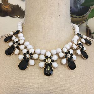 Charming Charlie black and white elegant necklace for Sale in Henderson, NV