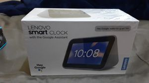 SEALED BRAND NEW LENOVO SMART CLOCK WITH GOOGLE ASSISTANT (CHROMECAST) for Sale in New York, NY