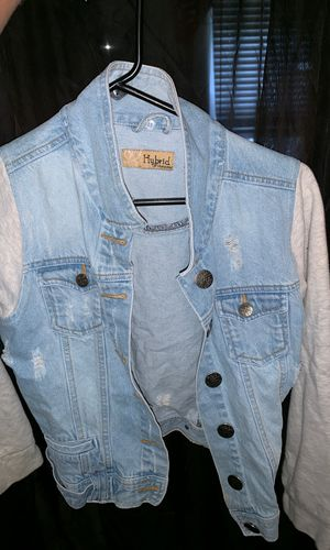 Hybrid and company jean jacket for Sale in Indianapolis, IN