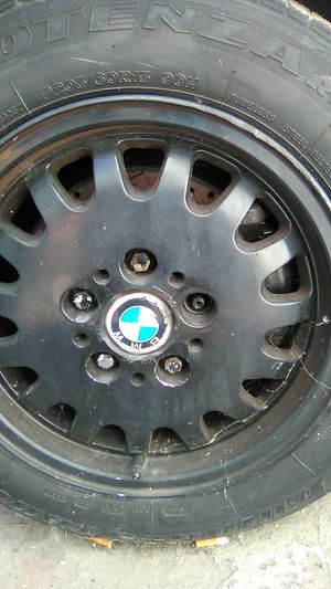 BMW STOCK BLACK RIMS for Sale in Oakland, CA