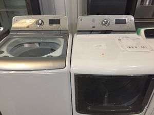 Washer set - GE stainless steel for Sale in Atlanta, GA