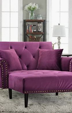 Purple Couch Futon Single Seater for Sale in Half Moon Bay,  CA