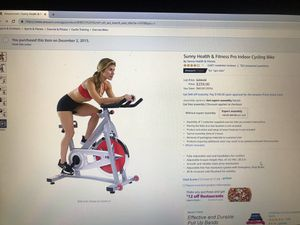 Indoor cycling bike for Sale in Scottsdale, AZ