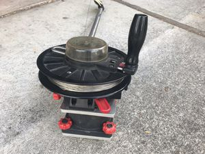 Scotty downrigger with 4 inch pedestal for Sale in San Jose, CA