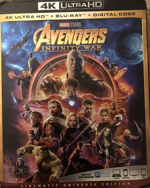 Avengers: Infinity War (Code included) for Sale in Knightdale, NC