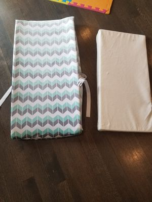 Changing table pad + wedge anti- reflux pillow for Sale in Streamwood, IL