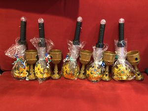 Knight party favors (5) - crown, goblet, light-up sword for Sale in Washington, DC