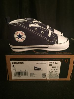 Baby converse for Sale in Laurel, MD