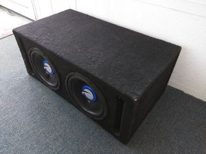 "Pair of P. A. 10"" Subwoofers and Box Combo for Sale in Columbus, OH"