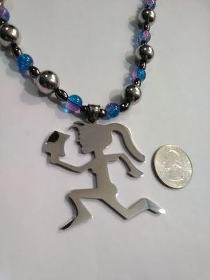 Hand Made Hatchet Girl Necklace for Sale in Columbus, OH