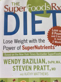 The Super Foods RX Diet Book Macros for Sale in Las Vegas,  NV