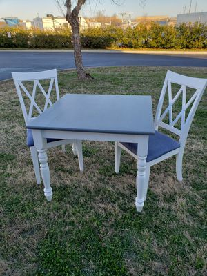 Oak table and 2 chairs for Sale in Virginia Beach, VA
